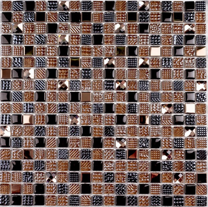 Мозаика Crystal brown 300*300