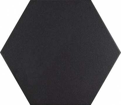 Керамогранит BASIC HEX.25 Black 25x22