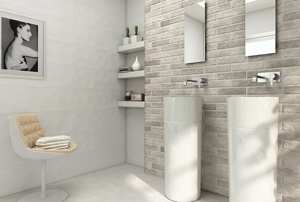 Коллекция Pamesa Ceramica BRICKWALL в интерьере
