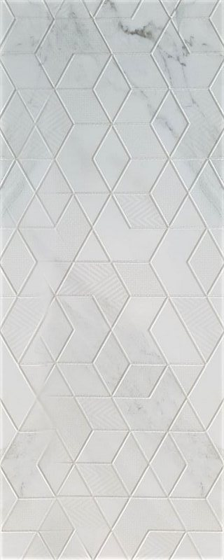 Декоры настенные 40*120 DECOR 1212 Blanco DIAMOND